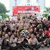 Di Arena Car Free Day Polres Cirebon Deklarasikan Pemilu Damai 2019