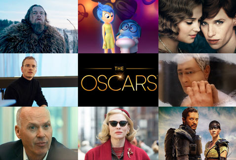 Montaje con algunas de las películas nominadas este año