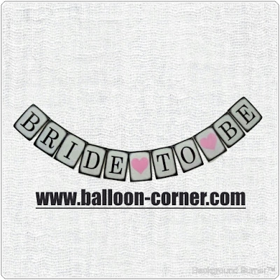 Bunting Banner BRIDE TO BE