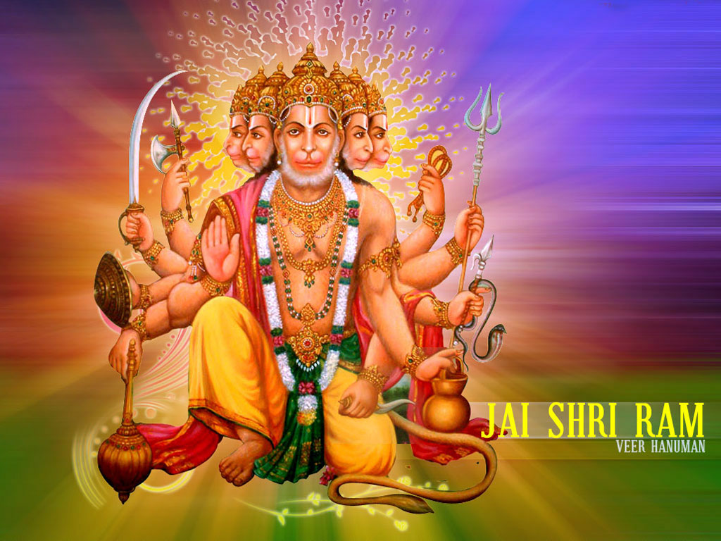 Panchmukhi Hanuman Wallpapers