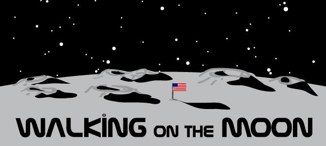 Walking on the Moon logo