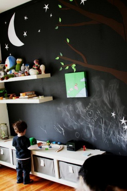 Slate Walls In Children's Rooms 6