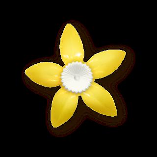Flores y Botones del Clipart Limonada.