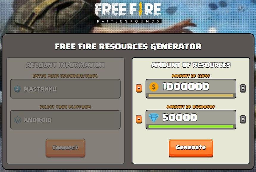 Glitchs Info Free Fire Hack Diamond Online