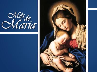 Resultado de imagem para mês de maria