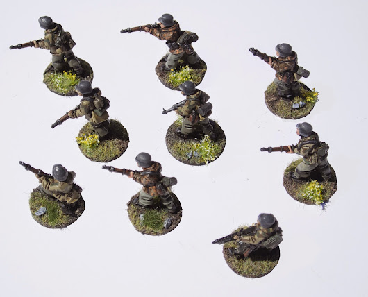 28mm Germans for Chain of Command