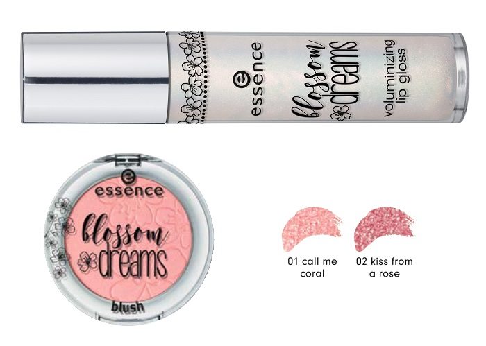 essence blossom dreams voluminizing lip gloss