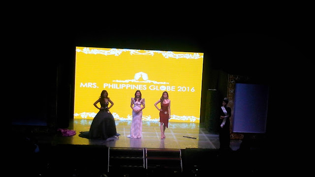 talent portion mrs. globe philippines 2016