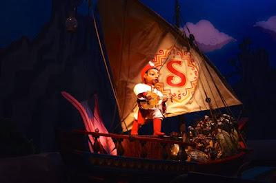 Adventure of Sindbad Ride in Tokyo Disneysea Japan
