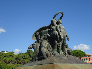 Baroni's sculpture at Quarto is a monument to the expedition