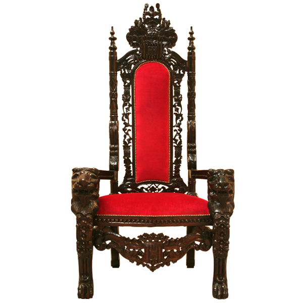 ROSE WOOD FURNITURE: king throne chairs