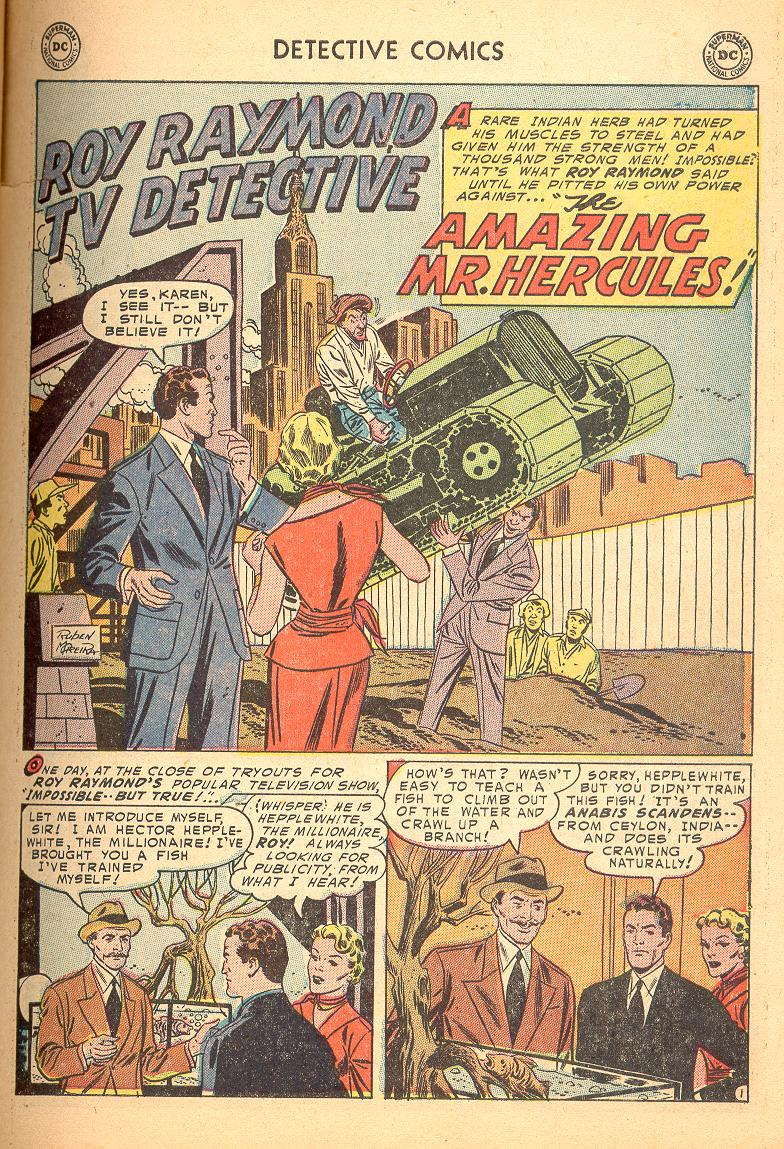 Read online Detective Comics (1937) comic -  Issue #214 - 27