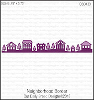 ODBD Custom Neighborhood Border Die