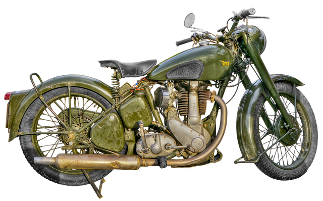 MOTOR ANTIK MANTAP
