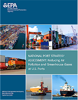"""The National Port Strategy Assessment: Reducing Air Pollution and Greenhouse Gases at US Ports""  Click to visit"