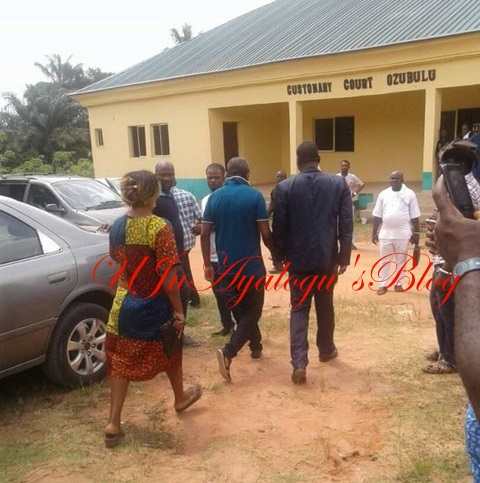 See the Four Suspects of Ozubulu Church Massacre as They are Arraigned in Court in Anambra (Photos)