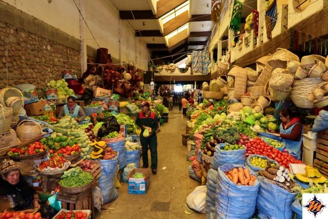 Sucre, mercato