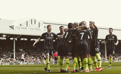 Manchester City vence o Fulham por 2 a 0 - Campeonato Inglês - rodada  32