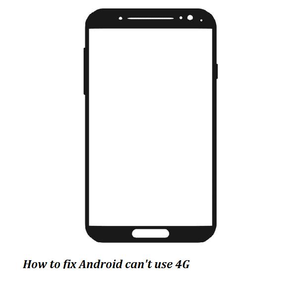 HP tidak bisa 4G