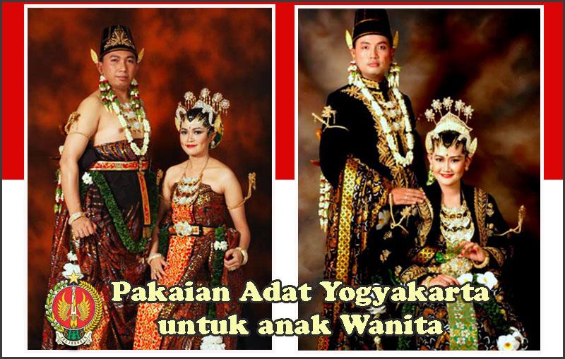 Jenis Pakaian Adat Yogyakarta Menurut Usia Pemakainya Lengkap