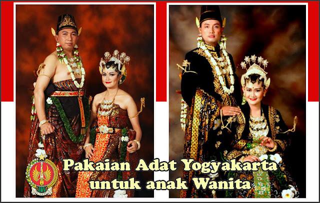 Gambar Pakaian adat pengantin gaya Yogyakarta