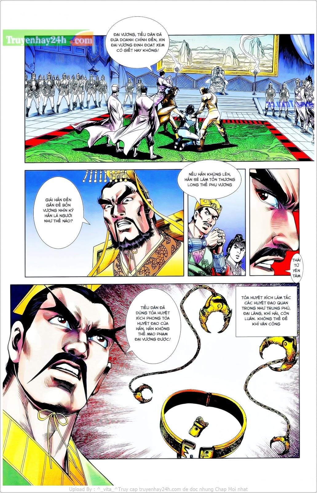 Tần Vương Doanh Chính chapter 24 trang 9