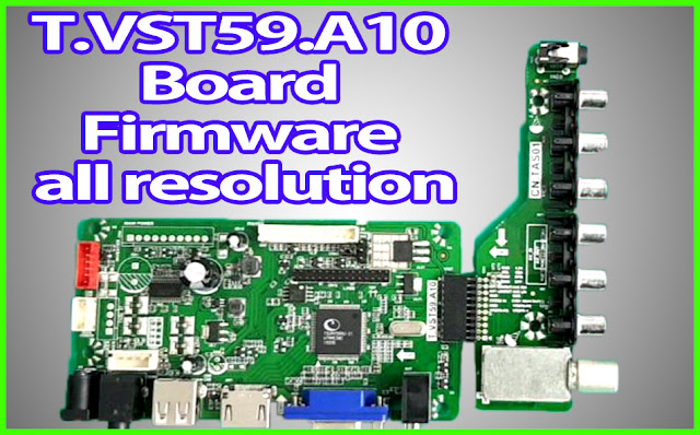 T.VST59.A10 Board firmware download