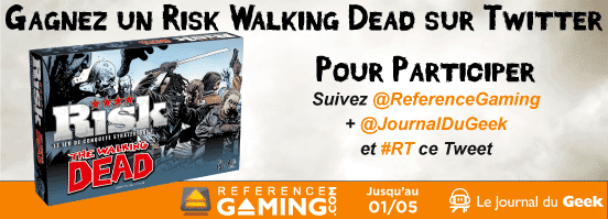Gagnez le Risk The Walking Dead