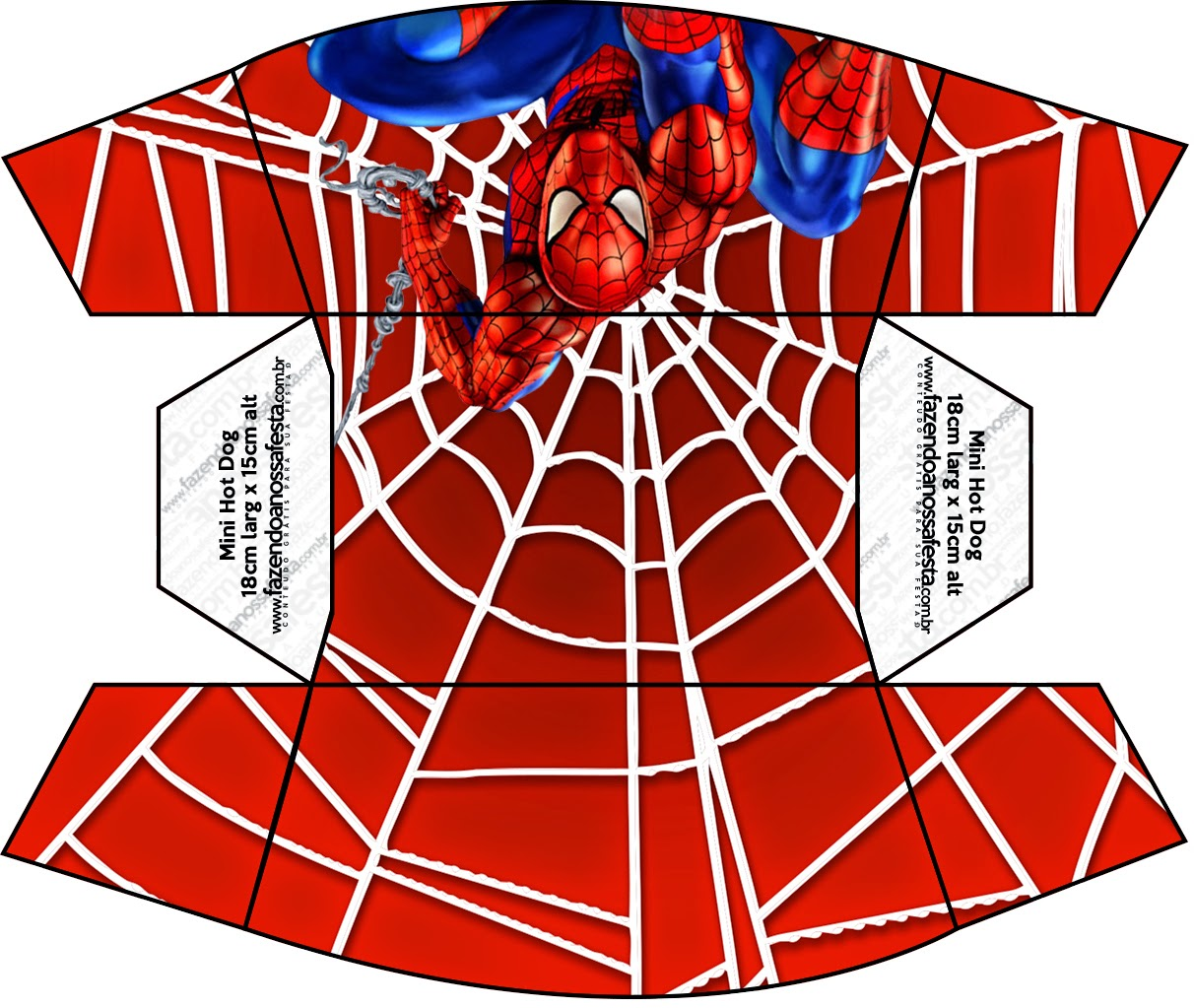 Spiderman Free Printable Boxes