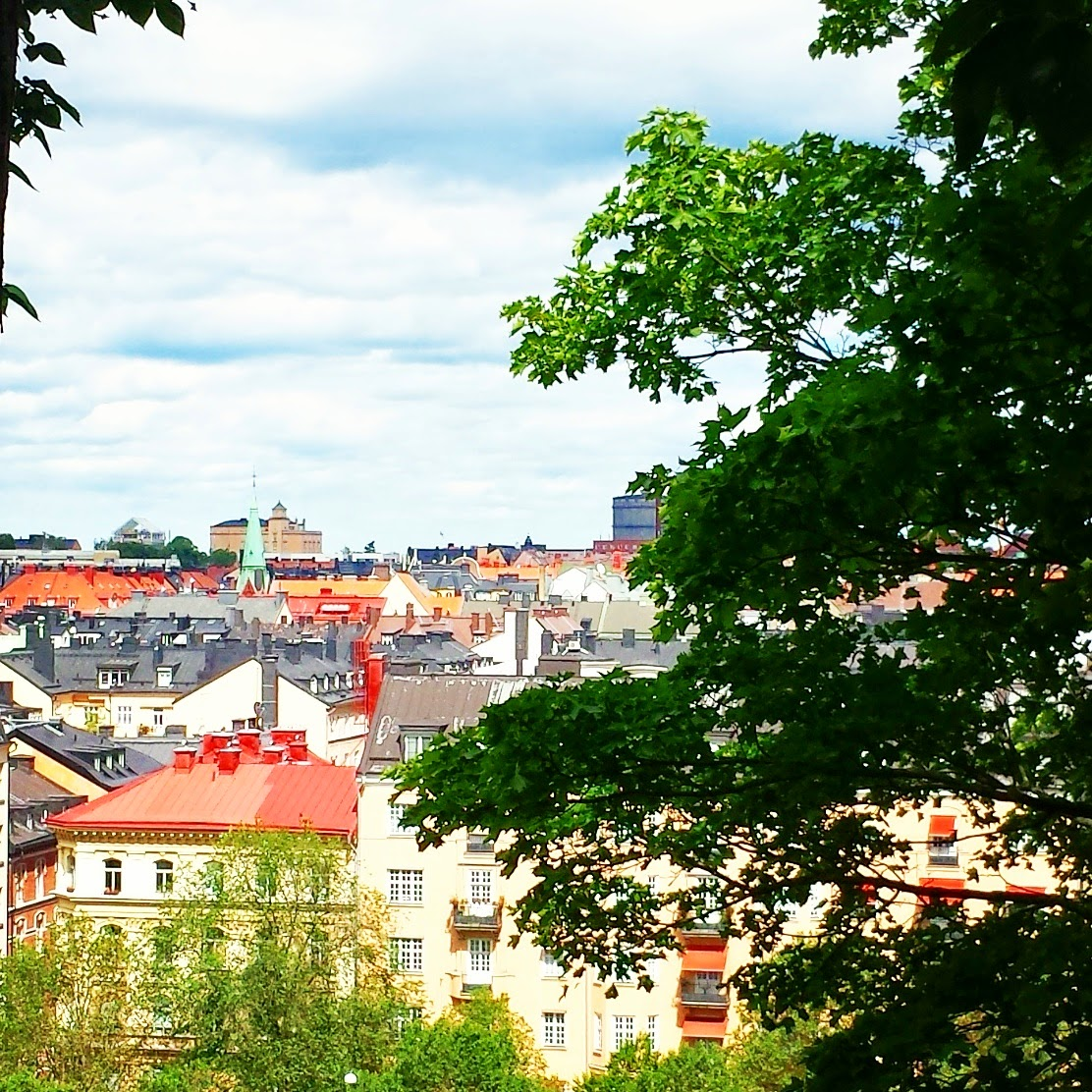 View from Observatorielunden  |  Summer in Stockholm on afeathery*nest  |  http://afeatherynest.blogspot.com