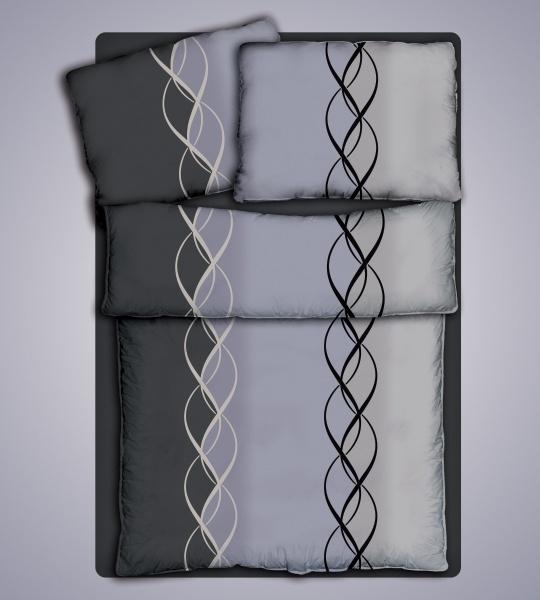 Ložní prádlo Joop - bavlněný Jersey - 100% čistá bavlna - oboulícní úplet 140g/m2