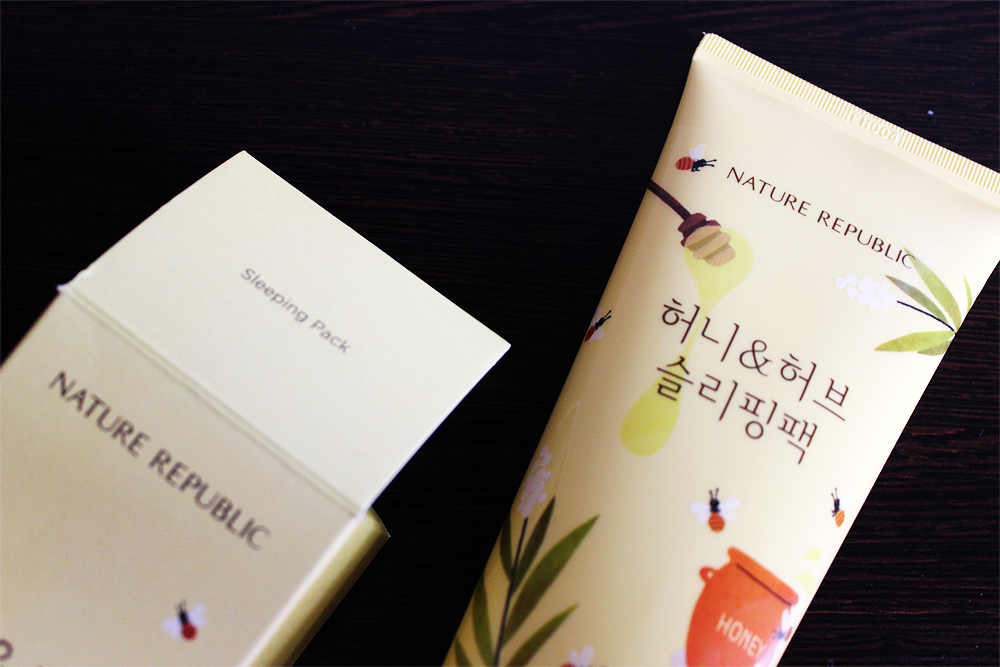 Nature Republic Honey & Herb Sleeping Pack