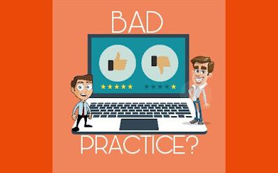 hindari perilaku buruk blogger