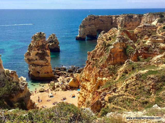 playas que no te puedes perder en el Algarve