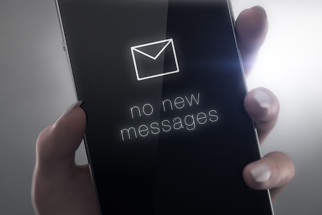 no message