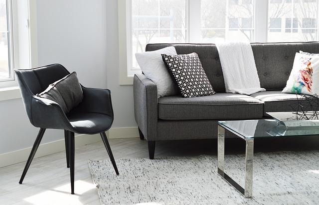memotret sofa minimalis