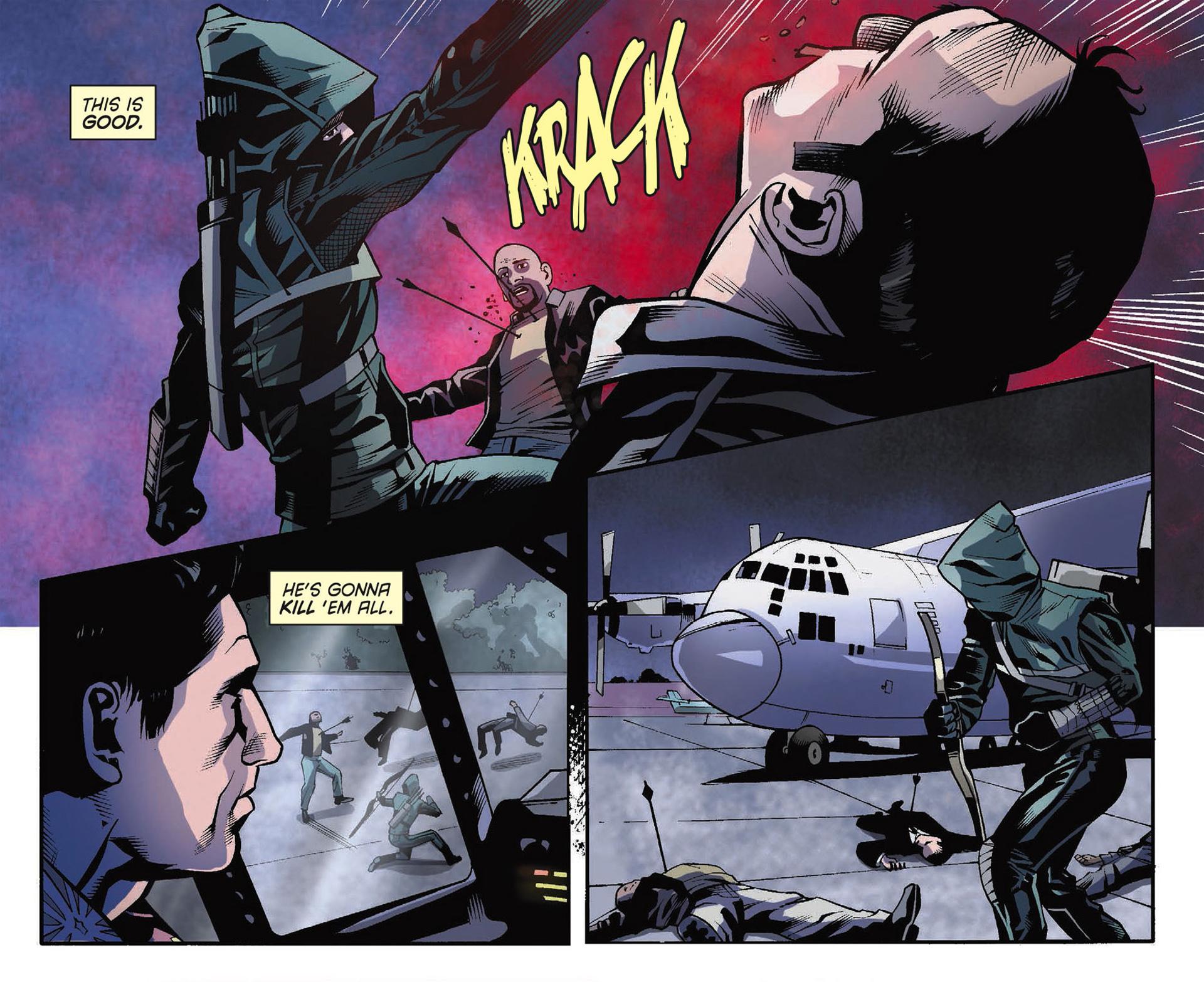 Read online Arrow [II] comic -  Issue #34 - 11