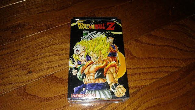 RightStuf Review - $5 Shonen Blind Box : Dragon Ball Z playing cards