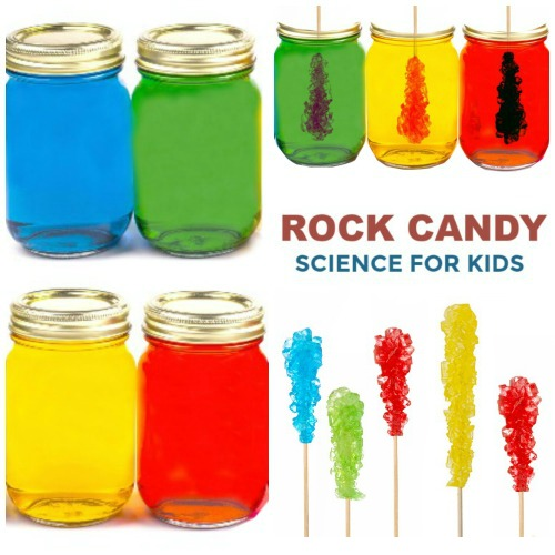 ROCK CANDY SCIENCE (experiment for kids) #rockcandy #rockcandyrecipe #koolaidrockcandy #koolaidrecipes #rockcandydiy #rockcandyrecipeeasy #howtomakerockcandy #scienceforkids