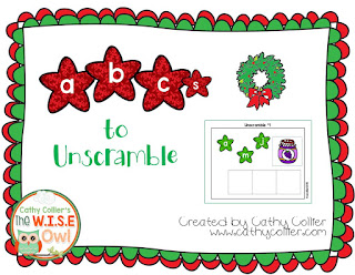 December Ready-made centers. Day 10: CVC words.