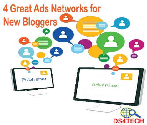 4 Great Ads Networks for New Bloggers