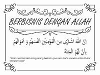 Cerita imajiner islam berjudul Berbisnis dengan Allah