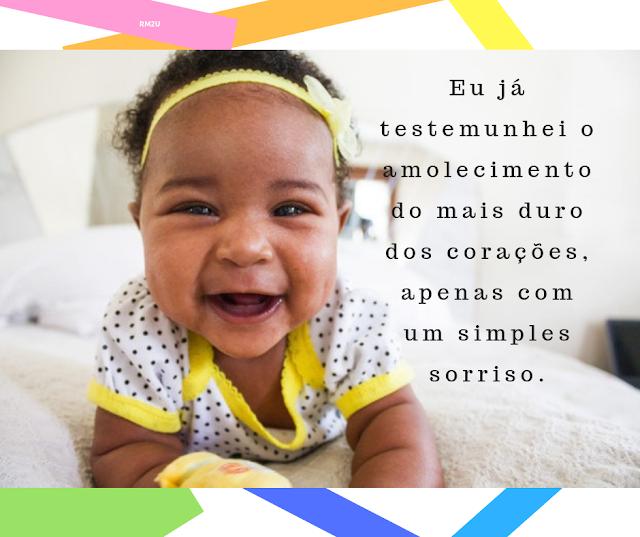 Um simples sorriso muda tudo