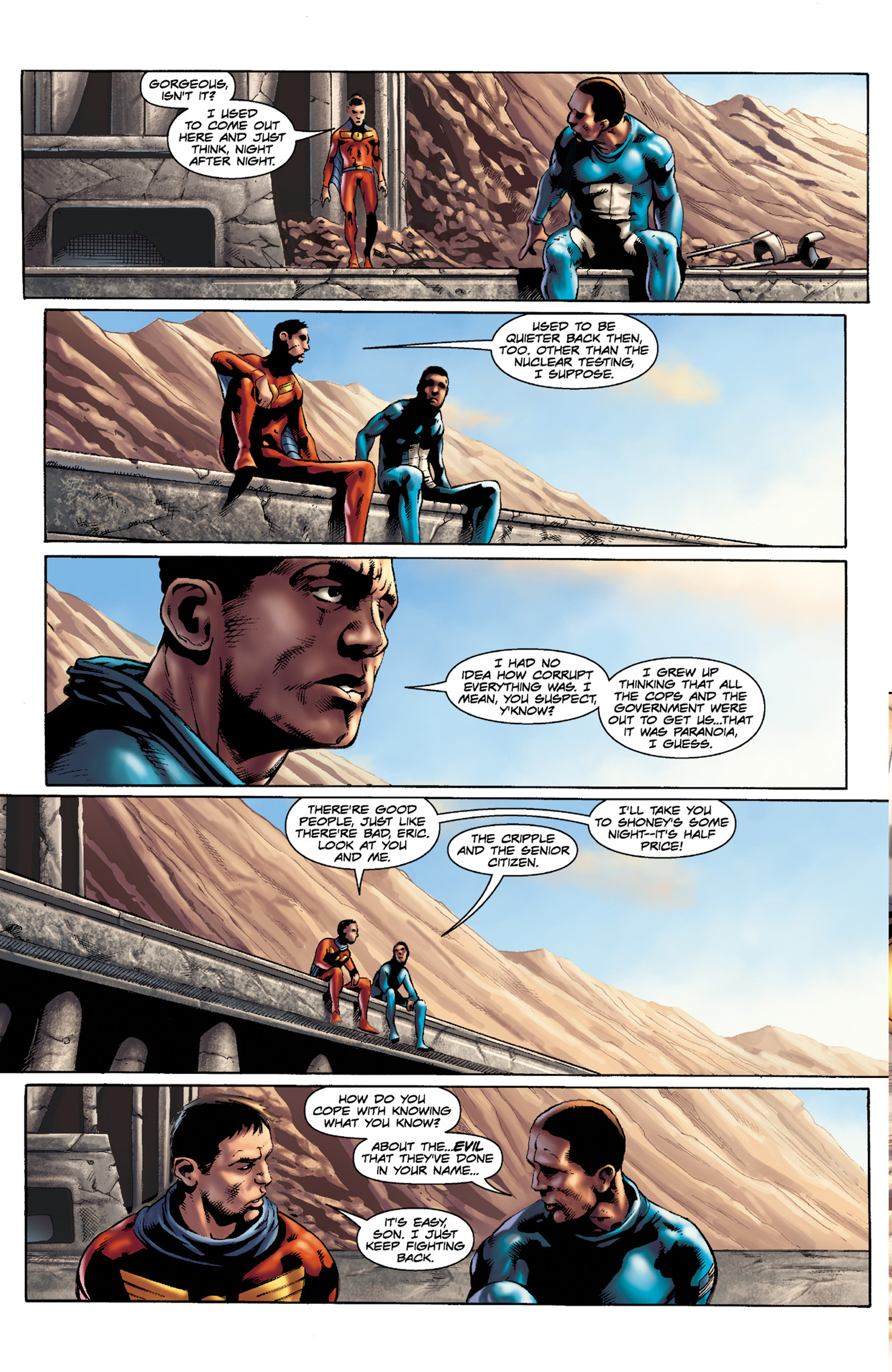 Read online Skyman comic -  Issue #3 - 11