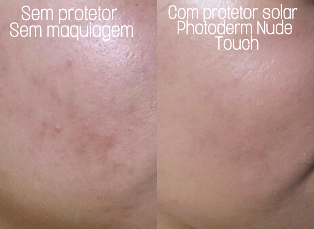 photoderm-nude- touch-FPS-50-bioderma-50g-antes-e-depois