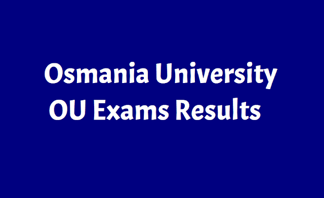 OU Degree, PG Results