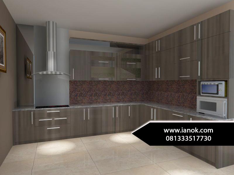 Kitchen set minimalis surabaya sidoarjo for Tukang kitchen set