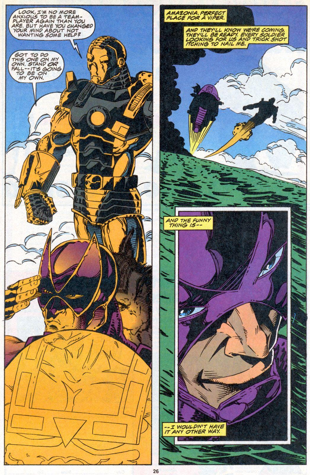 Hawkeye (1994) Issue #3 #3 - English 19