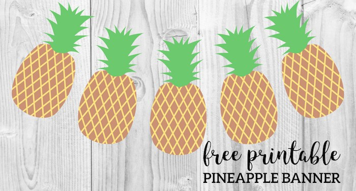 graphic about Printable Pineapple identify Musings of an Common Mother: Pineapple Crafts Printables