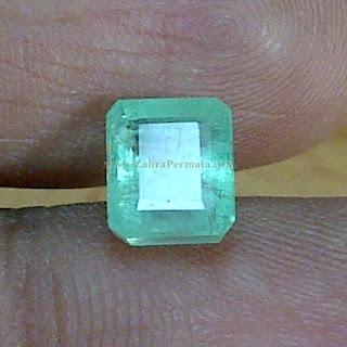Batu Permata Emerald Zamrud Colombia - ZP 883